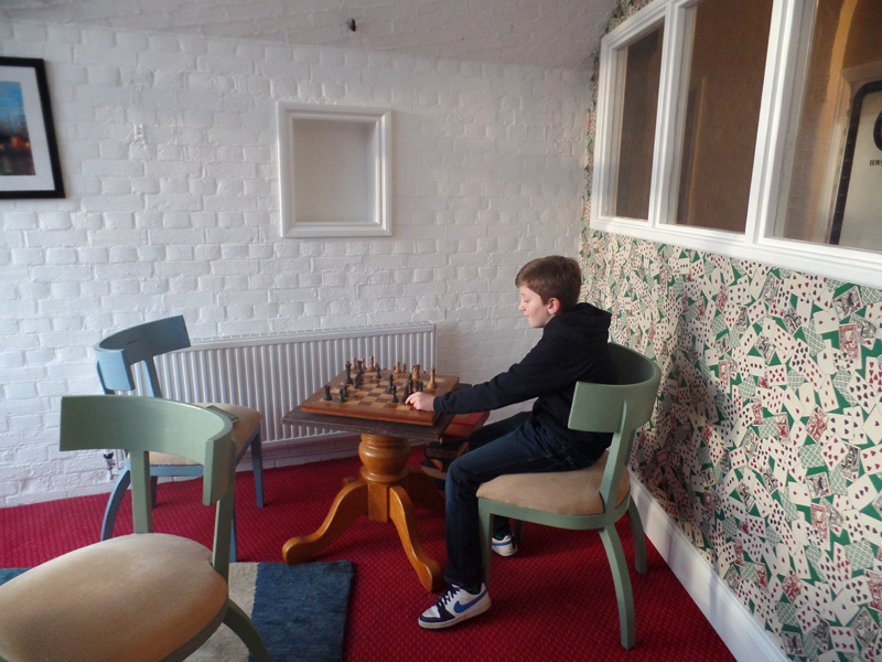 The Games Room at No Man's Fort