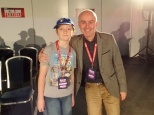 Tom Project Indigo meets Barnaby Edwards at The Doctor Who Festival