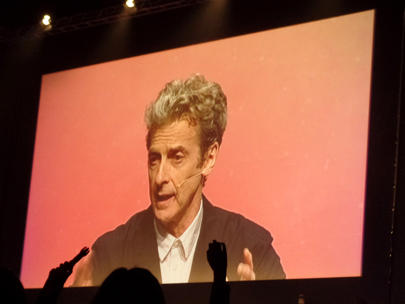 Peter Capaldi at The Doctor Who Festival