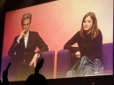 Peter Capaldi and Jenna Coleman at The Doctor Who Festival