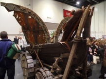 The Longboat from The Girl Who Died at The Doctor Who Festival