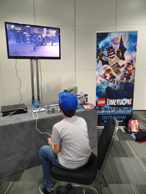 Playing Lego Dimensions at The Doctor Who Festival