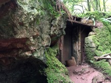 The Magical Doorway at Puzzlewood