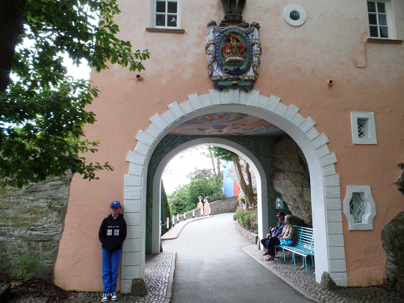 The Gate House at the entrance to Portmeirion