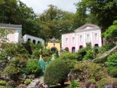 Another view of the Unicorn House at Portmeirion