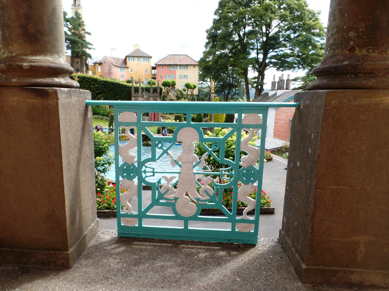 Set design at Portmeirion
