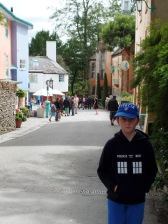 This is the road to Hercules Hall in Portmeirion