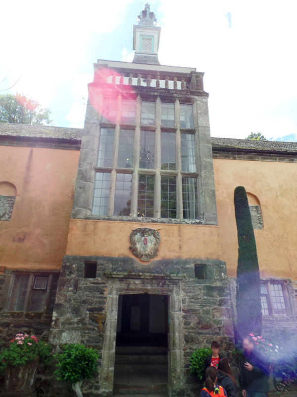 Outside Hercules Hall in Portmeirion