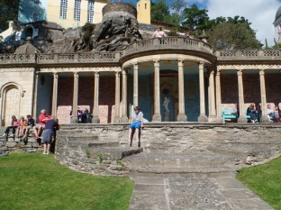 The Bristol Collonade at Portmeirion, Doctor Who filming location