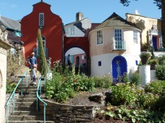 The house of Number 6 in the Prisoner in Portmeirion
