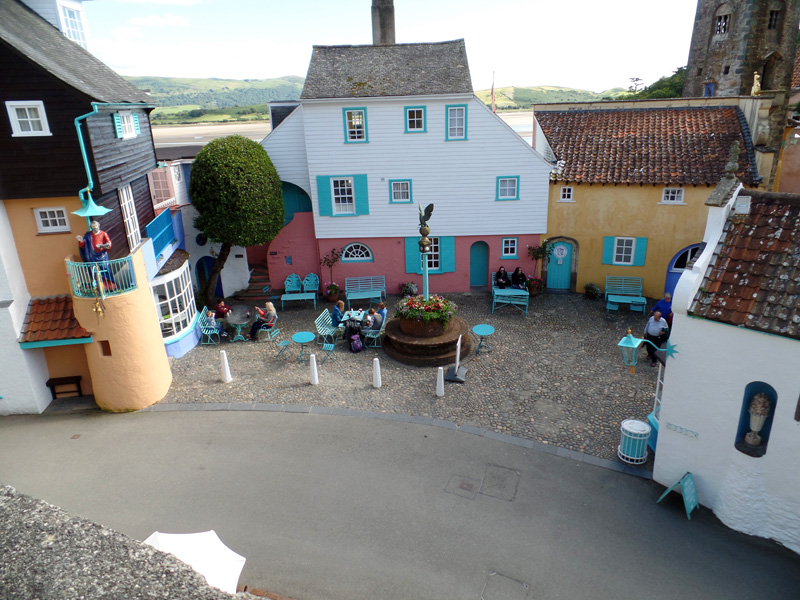 Battery Square in Portmeirion