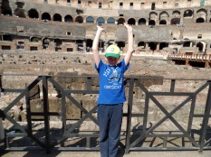 Tom Project Indigo in the Colosseum