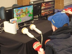 The gaming zone at Film & Comic Con Bournemouth