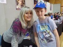 Anneke Wills at Film & Comic Con Bournemouth