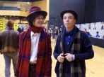 Cosplay Doctors past and future at Film & Comic Con Bournemouth