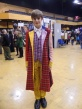 Sixth Doctor Cosplay at Film & Comic Con Bournemouth