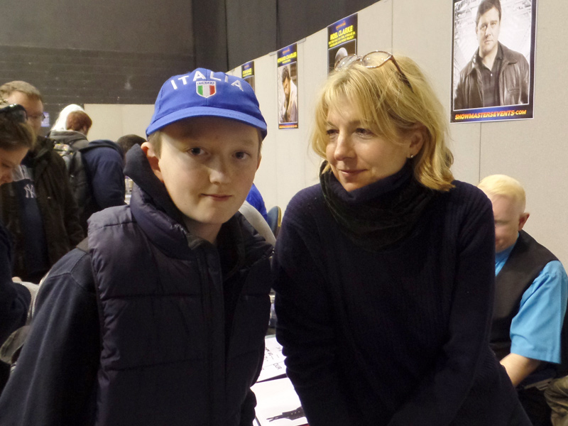 Jemma Redgrave at Film & Comic Con Bournemouth