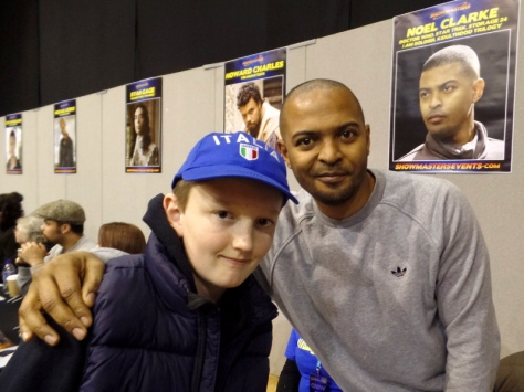 Noel Clarke at Film & Comic Com Bournemouth