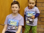 Meeting T-shirt Twin Isaac at Film & Comic Con Bournemouth