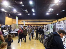 Exploring the stalls at Film & Comic Con Bournemouth in March 2016