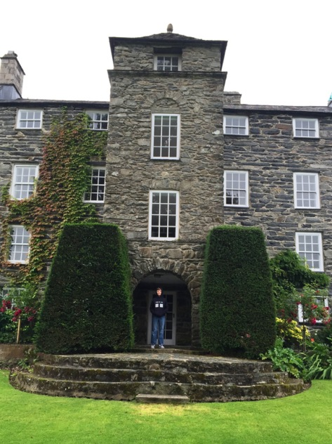 The home of Clough Williams- Ellis and family at Plas Brondanw