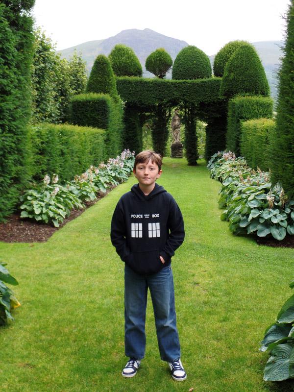 Plas Brondanw Gardens
