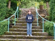 Looking for the First Doctor at Plas Brondanw