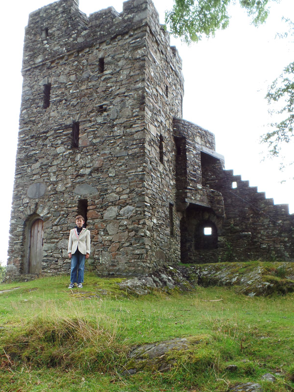 Folly Castle at Plas Brondanw