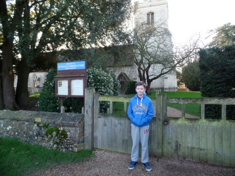 The Church of St Andrew and St Mary - Grantchester filming location