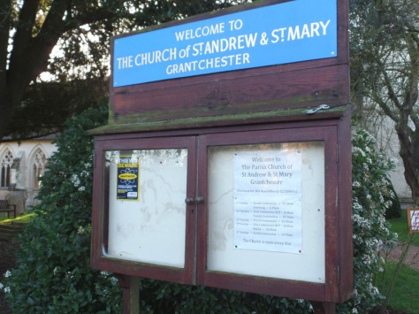 Sidney's Chambers' church in Grantchester, Doctor Who filming location for Shada