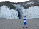Tom Project Indigo visits Doctor Who filming location Botany Bay in Kent