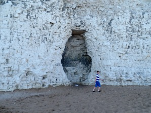 Tom Project Indigo at Botany Bay - Doctor Who Fury from the Deep filming location