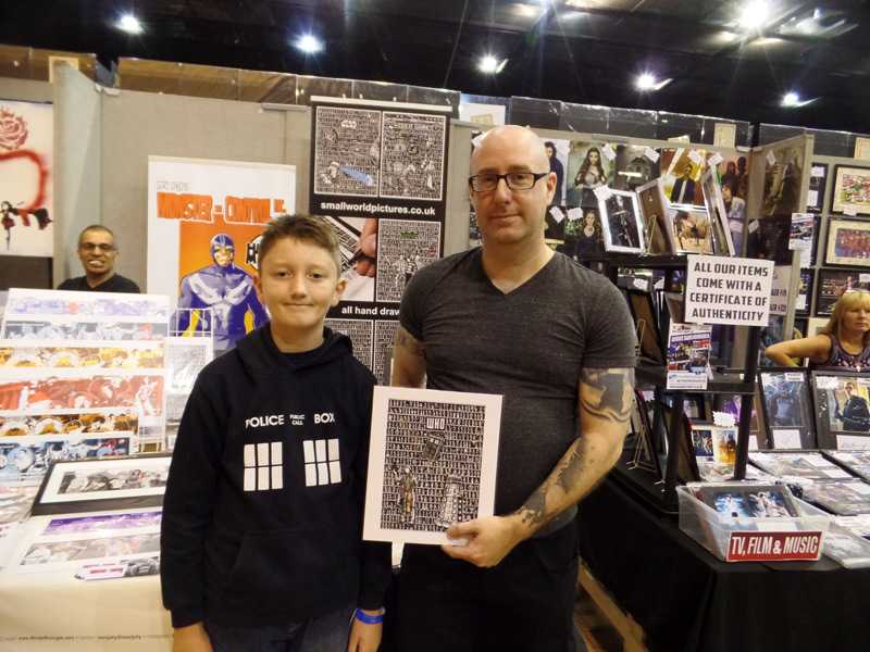Small World Pictures at Film & Comic Con Bournemouth