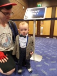 Doctor Who cosplay at Film & Comic Con Bournemouth - Eleventh Doctor