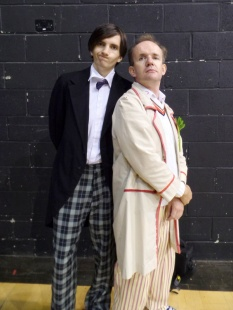 Doctor Who Cosplay at Film & Comic Con Bournemouth - Second and Fifth Doctors