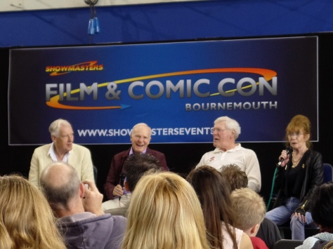 The Doctor Who Panel on Day 2 of Film & Comic Con Bournemouth