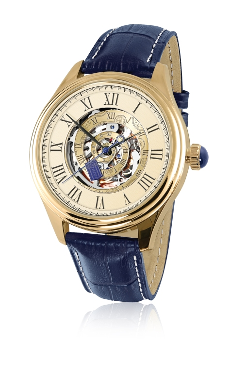 The Doctor Who Time Vortex Mechanical Watch by The Bradford Exchange