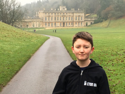 Tom Project Indigo visits Dyrham Park in Gloucestershire