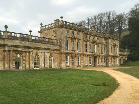 The entrance to Dyrham Park, Doctor Who filming location