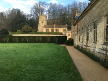 A view of St Peter's Church at Dyrham Park