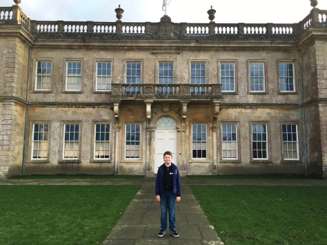 Tom Project Indigo visits Doctor Who 'The Night Terrors' filming location Dyrham Park