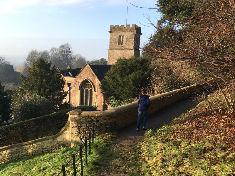 Tom Project Indigo explores the Lost Terraces at Dyrham Park