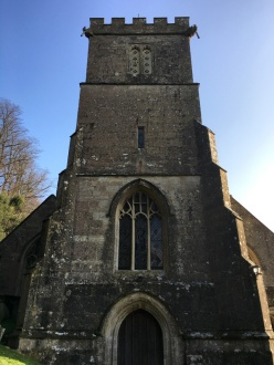 St Peter's Church where William and Mary were married at Dyrhma Park